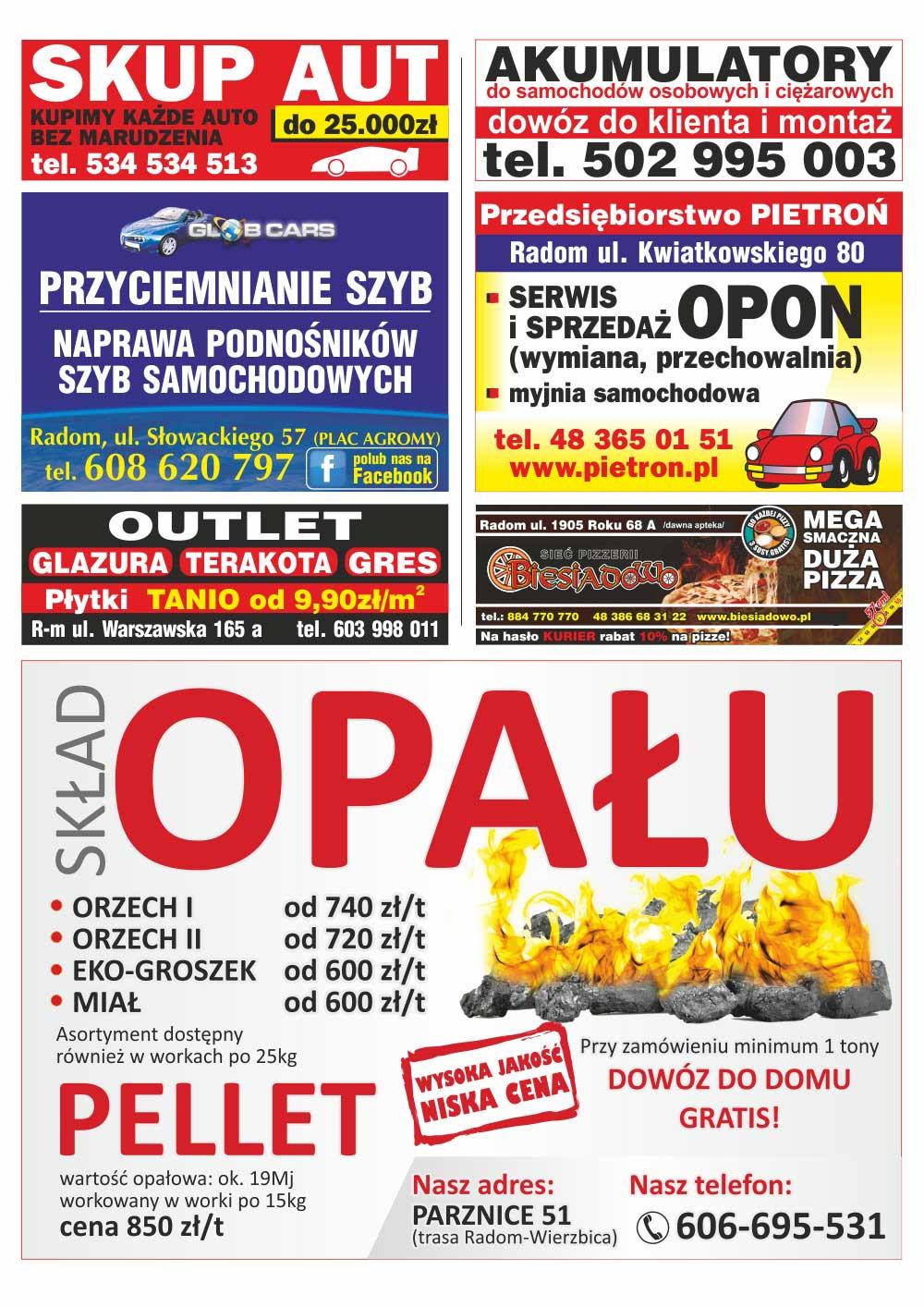 Młodzieńczy KURIER REKLAMOWY - Bezpłatna Gazeta Reklamowa FE96
